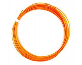 PCL пластик для 3D ручки оранжевий