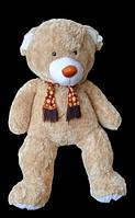 На подарок девушке плюшевый Мишка 200 см мягкая игрушка медведь в шарфе