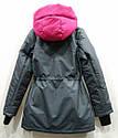 Демисезонная Куртка парка для девочек Размер 38 ( 140-146), фото 3