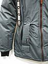 Демисезонная Куртка парка для девочек Размер 38 ( 140-146), фото 4