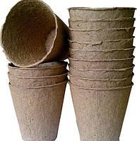Торфяной горшок для рассады, 110х100мм, фото 1