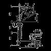 Смеситель для умывальника EMMEVI LUXOR SC7096R матовый с лейкой, фото 2