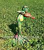 Садовая фигура Лягушки Трио музыканты, фото 4