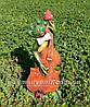 Садовая фигура Лягушки Трио музыканты, фото 5