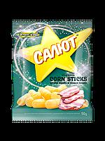 """Палички кукурудзяні зі смаком бекону ТМ """"Салют"""" 90 г"""
