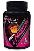 Жиросжигатель проблемных зон Stark Pharm - L-Carnitine & Yohimbine (60 капсул)