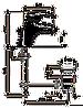 Смеситель для умывальника EMMEVI LUXOR BO7003R белый/золото, фото 2