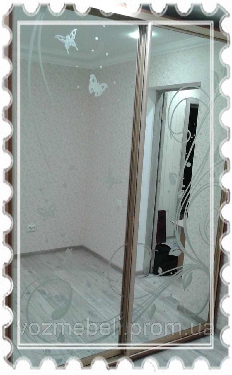 Фасад - основа зеркало - Триумф высота 2200 ШК(ЭШК)-1,2,3,4