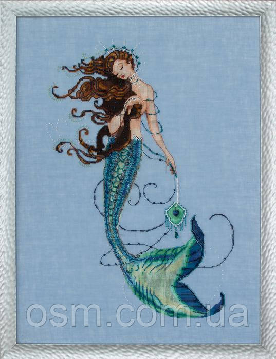 Схема для вышивки Renaissance Mermaid Mirabilia Designs