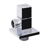 Кран угловой (квадрат) с керам.буксой 1/2 х 1/2   SF341W1515