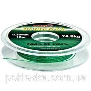 Поводковый материал DN-Max Extra Strong PE Fiber Green 10 м 0.10 мм