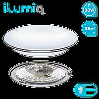 Умный светодиодный светильник с эффектом страз Ilumia Silver Spirit+пульт ДУ, 38Вт, 2800K-6000К, 3600 Лм (069)