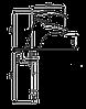 Смеситель для умывальника EMMEVI LUXOR CO7003RTC хром/золото, фото 2