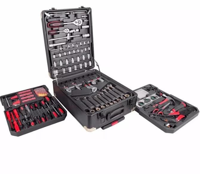Набір інструментів LEX + чемодан 186 елементів з ТРИЩОТКАМИ!