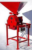 Зернодробилка ДКУ на 4 кВт до 650 кг/час 220-380В Кормоизмельчитель,Дробилка