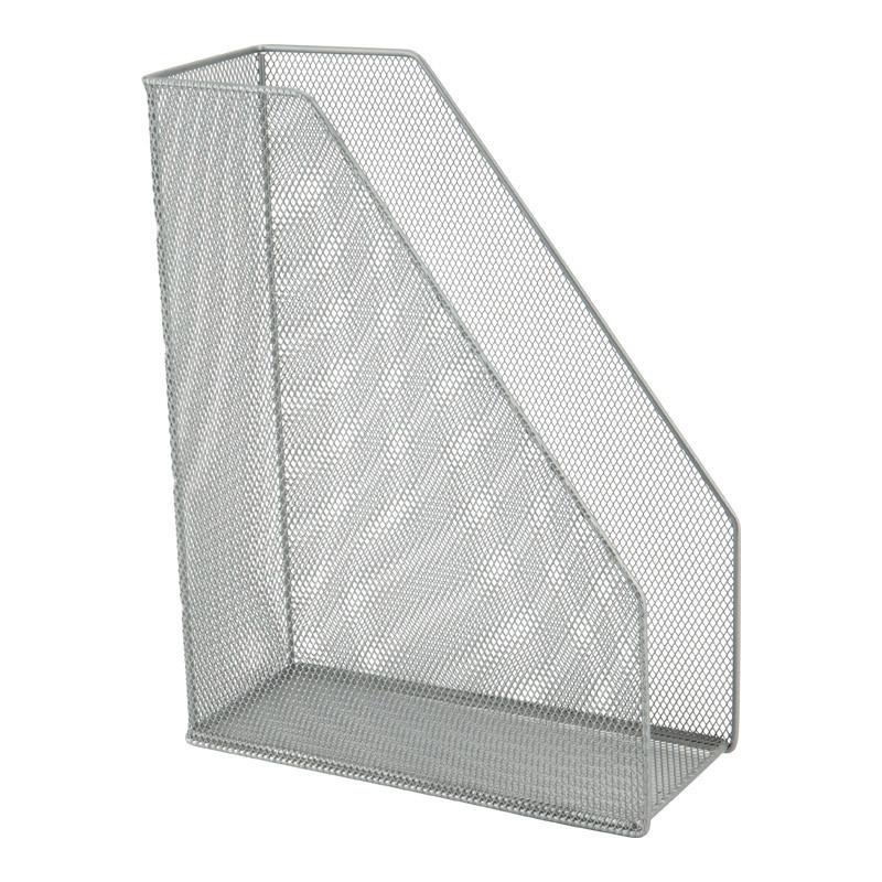 Лоток вертикальний металевий Axent 2120-03-A, 100x250x320 мм, сріблястий