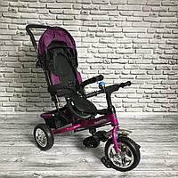 Детский трехколесный велосипед Super Trike (бордо)