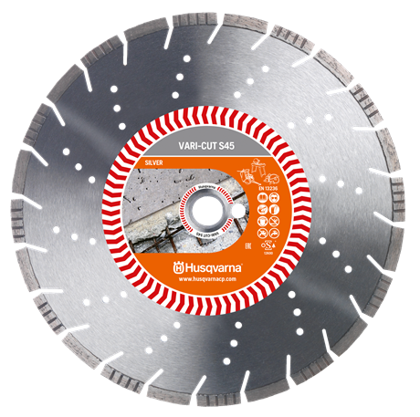 Диск Husqvarna VARI-CUT S45 350 мм Армированный бетон