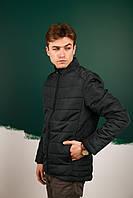 Курточка утепленная мужская осенняя/весенняя, цвет болотный