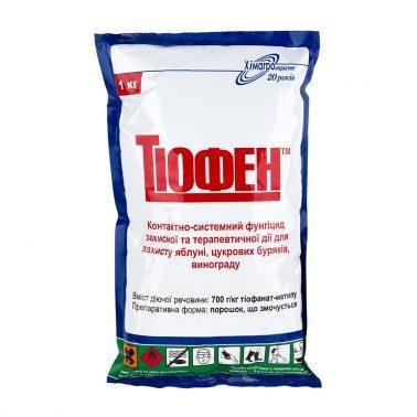 Фунгіцид Тіофен (Топсін-М) тіофенат-метил 700г/кг, тара 1кг Хімагромаркетинг