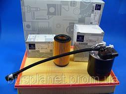 Фильтр воздушный/масляный/топливный (комплект (2.2CDI, OM651)