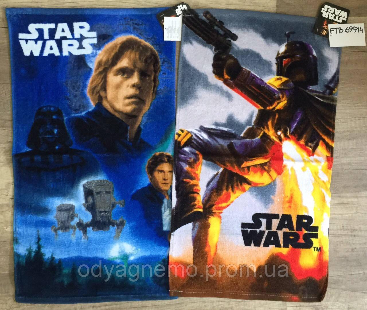 Полотенце детское Star-Wars оптом, 35*65 см.