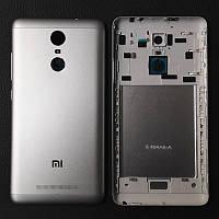 Задняя крышка корпус для Xiaomi Redmi Note 3 панель , серая оригинал PRC