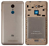 Задняя крышка корпус для Xiaomi Redmi Note 3 Pro Special Edition панель, золотистая, оригинал PRC