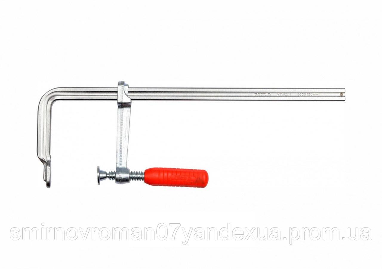 Струбцина ковані F-образна YATO 400 х 120 мм
