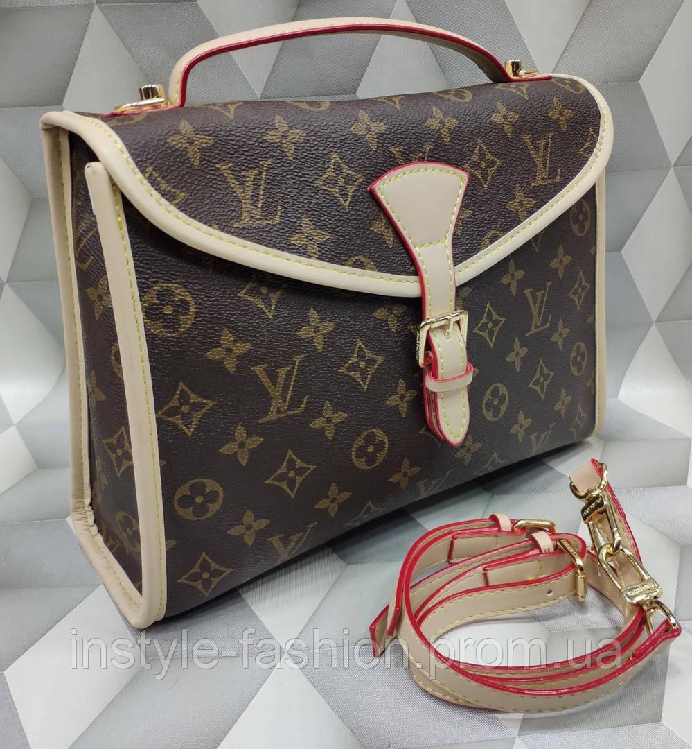 5a3a0d7bffbe Сумка женская копия Louis Vuitton Луи Виттон качественная эко-кожа дорогой  Китай - Сумки брендовые