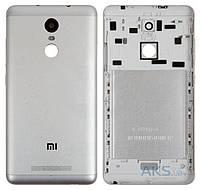 Задняя крышка корпус для Xiaomi Redmi Note 3 панель , серебристая оригинал PRC