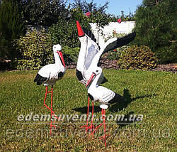 Садовая фигура Семья садовых аистов №4, фото 2