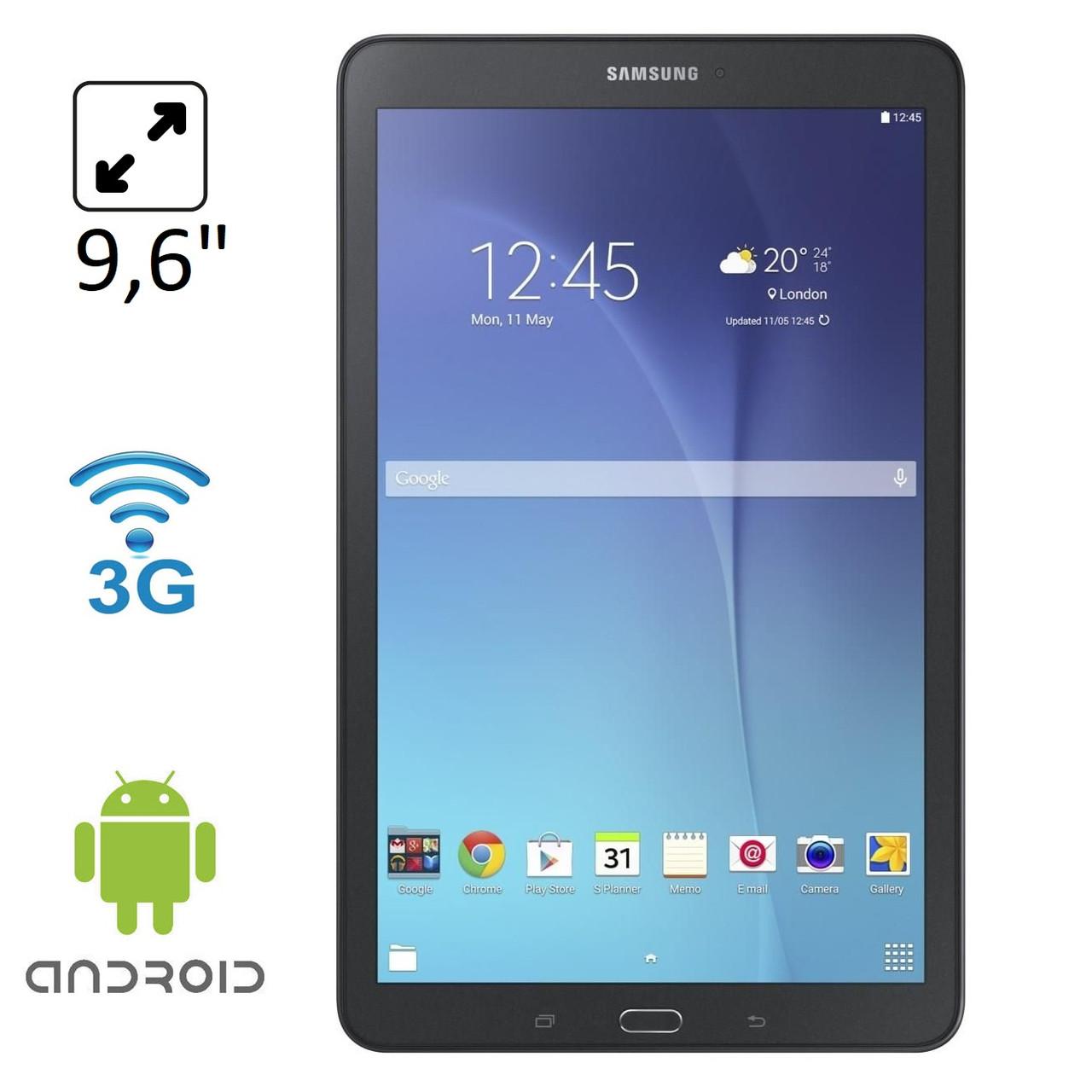 """Планшет Samsung Galaxy Tab E T561 9.6"""" 3G 1.5/8Gb Black (SM-T561)"""