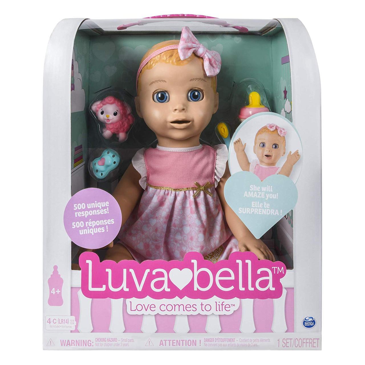 Кукла Лувабелла оригинал интерактивная Luvabella Spin Master