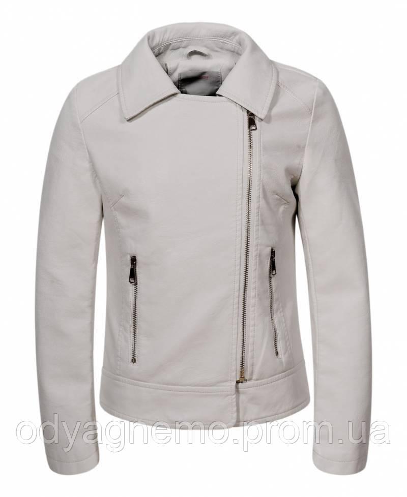 Куртка кожзам для девочек Glo-Story оптом, 122/128-158/164 рр.
