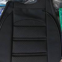 Накидки на сиденья чехлы универсальные черные  2 шт. (на передние сиденья)