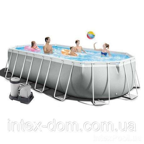Каркасный бассейн Intex 26798 (610 x 305 x 122 см)