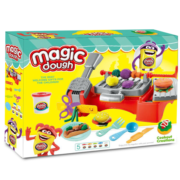 Пластилин Magic Dough Tasty BBQ