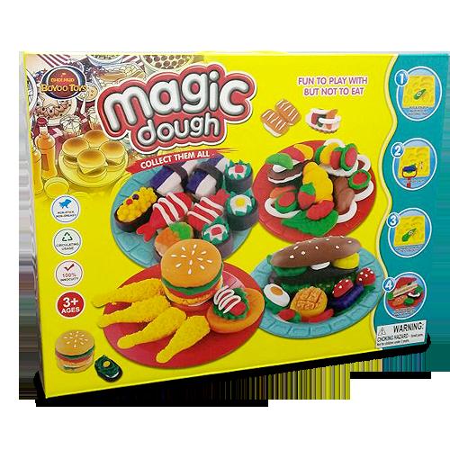 Пластилін Magic Dough Fast Food