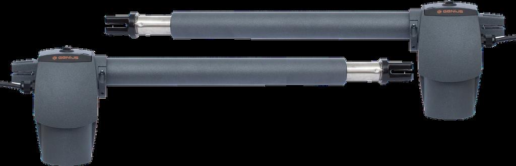Электромеханический привод для распашных ворот FAAC GENIUS G-BAT 300 створка до 3 м