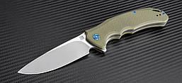 Нож Artisan Tradition BB, D2, G10 Flat olive