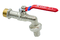Кран шаровой HLV Optima (3/4'') водоразборный (рукоятка-рычаг)