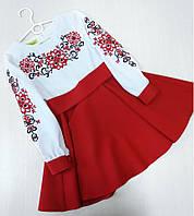 Детское платье-вышиванка