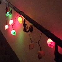 "Светодиодная LED гирлянда ""Черепа"""