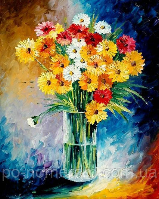 Картина из страз Rainbow Art Желтые герберы (PDA192) 30 х 40 см (На подрамнике)