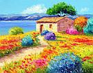 Алмазная вышивка Rainbow Art Приморский пейзаж (PDF28) 30 х 40 см (На подрамнике), фото 2