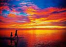 Алмазная живопись Rainbow Art Волшебный закат (PDF96) 30 х 40 см (На подрамнике), фото 2