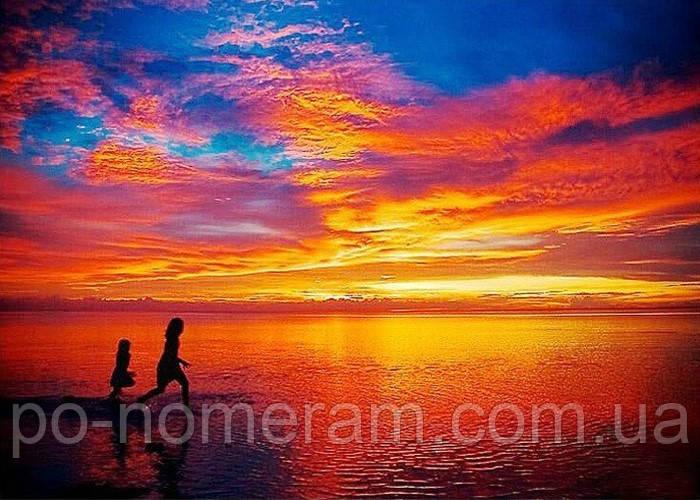 Алмазная живопись Rainbow Art Волшебный закат (PDF96) 30 х 40 см (На подрамнике)