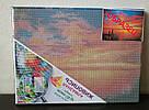 Алмазная живопись Rainbow Art Волшебный закат (PDF96) 30 х 40 см (На подрамнике), фото 5