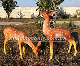 Садовая фигура Косуля и Косуля пасущаяся, фото 2